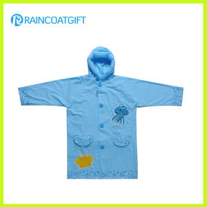 New Design 100%PVC Kids Raincoat pictures & photos