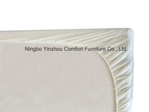 Top Sale White Polyester Mattress Protector Fitted Sheet Twin XL Queen King pictures & photos
