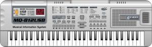 Piano Toy (MQ-812USB)