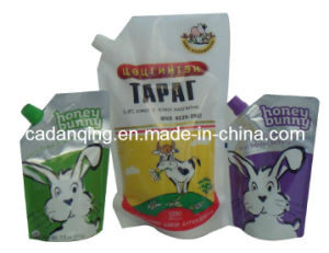 Liquid Packaging, Stand up Pouch with Spout (DQ131) pictures & photos