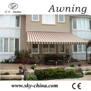 Aluminum Polyester Retractable Awnings for Window (B3200) pictures & photos