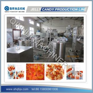 Frequency Control&Full Automatic Depositing Machine for Jelly Candy pictures & photos
