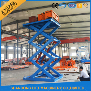 Automobile Hydraulic Cargo Lifter with Ce pictures & photos