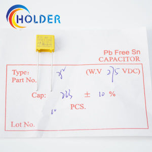 Miniature Metallized Polypropylene Film Capacitor X2 pictures & photos