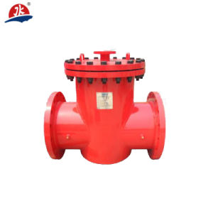 """14"""" Dn350 Manual L Shaped Pipeline Self Cleaning Filter pictures & photos"""
