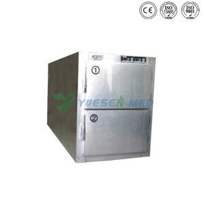 Ysstg0102 Medical 2 Doors Corpse Body Freezer pictures & photos