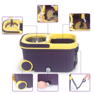 Hot Selling Magic Mop with Wheel pictures & photos