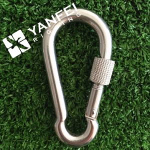 Stainless Steel Spring Snap Hook with Eyelet pictures & photos