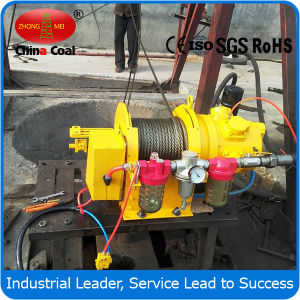 Jqhs-30* 12 Pneumatic Lifting Wire Rope Winch for Sale pictures & photos