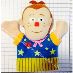 Plush Hand Puppet Mr Tumble for Kids