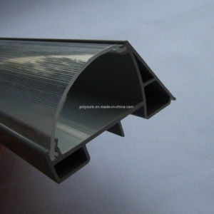 Plastic Extrusion for Refrigeration Display Showcase Assembly pictures & photos