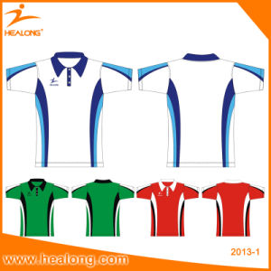 Wholesale Custom Made Cheap Men′s T-Shirt Polo pictures & photos