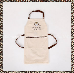 Adult Mens Customized BBQ Welding Embroidered Bib Apron with Pockets