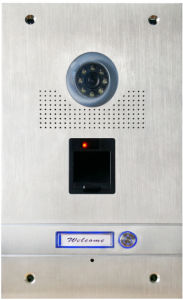 Fingerprint Outdoor Station in Door Entry System pictures & photos