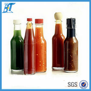 Food Grade 150 Ml 180 Ml Hot Sauce Bottles Pepper Glass Bottles pictures & photos