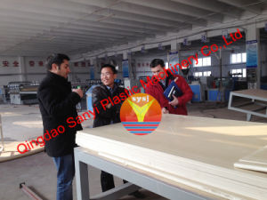 WPC Crust Foam Board Production Line/WPC Machinery pictures & photos