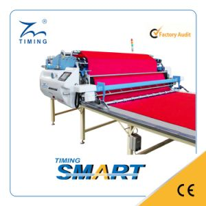 Fabric CNC Spreading Machine with Cloth Auto Cutting Device pictures & photos