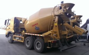 HOWO High-Quality Mixer Truck (ZZ1257N3847) pictures & photos
