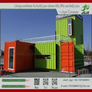 Morden Portable Prefab Glass Wall Shipping Container House/ Office/ Coffee Shop/ Store pictures & photos