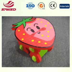 Skin-Friendly Material EVA Product Strawberry Design Chair pictures & photos