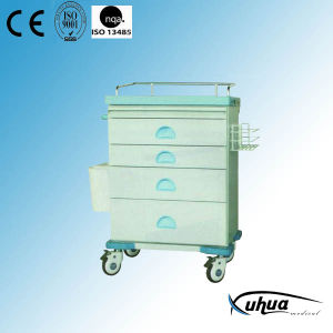 Hospital Medical Trolley Cart for Emergency Ward (N-21) pictures & photos