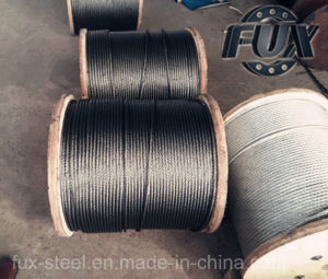 Ungalvanized and Galvanized Steel Wire Rope From Factory pictures & photos