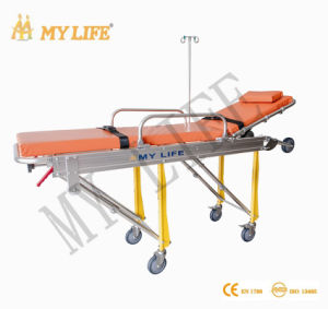 Automatic Loading Stretcher Aluminum Alloy Ambulance Stretcher (TD01013-A)