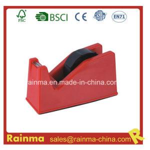 Red Medium Plastic Tape Dispenser pictures & photos