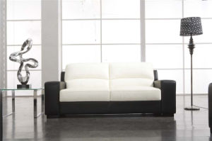 2 Colors Mixed Leather Sofa for Living Room pictures & photos