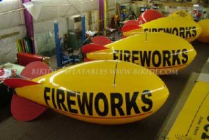 Helium Balloon, Zeppelin, Fireworks Balloons, Helium Blimps (K7010) pictures & photos