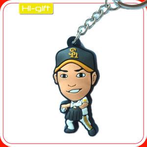 Custom Cheap Soft Rubber Key Tag (M104)