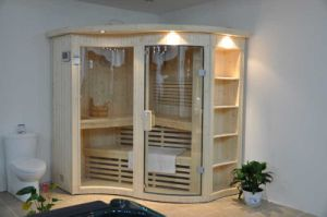 Traditional Sauna Room (A-201) With Round Arc Shape pictures & photos