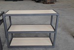Gym Style and Mssion Metal TV Stand