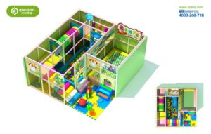 2014 Children Indoor Playground Equipment with TUV Certificate (QQ-30015) pictures & photos
