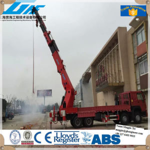 50-90t Hydraulic Knuckle Boom Truck Mounted Crane pictures & photos