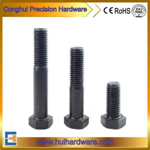 1/4-20 Black Hex Bolt Grade 8.8 pictures & photos