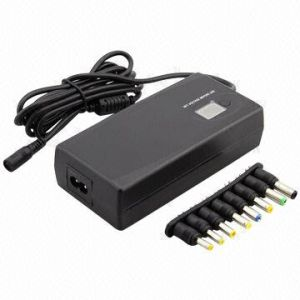 Universal Power Adapter, 90W, Manual with 8 Tips, with LCD Display