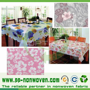 Disposable Nonwoven Table Cloth Spunbond Printing pictures & photos