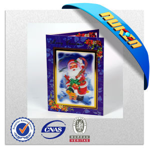 Wholesale Various 3D Lenticular Christmas Greeting Card pictures & photos