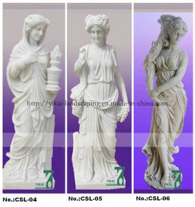 Granite, Marble Carving Sculpture. Character Figure Statues (YKCSL-02)