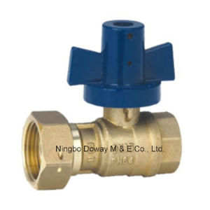 Lockable Ball Valve for Water Meter pictures & photos