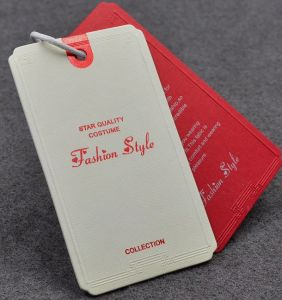 Fashion Garment Paper Hangtags pictures & photos