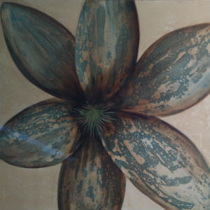 High Quality Oil Painting Flower Picture for Wall Art by Hand (LH-150000) pictures & photos