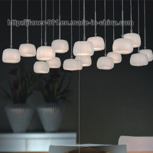 Modern Home Jade Glass Hanging Pendant Lamp Light for Resturant pictures & photos