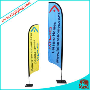 High Quality Polyester Teardrop Feather Flag Banner pictures & photos