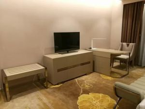 Hotel Bedroom Furniture/Luxury Kingsize Bedroom Furniture/5 Star Hotel Bedroom Furniture/Kingsize Hospitality Guest Room Furniture (NCHB-01203) pictures & photos
