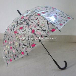 23inches Curve Handle Apollo Shape Poe Umbrella (YSN22) pictures & photos