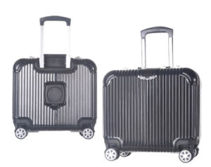 High Quality Hardshell Carry on Boarding Luggage 18 Inch business Bag with Cup Holder pictures & photos