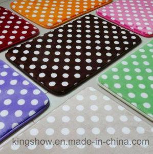 Printed Polyester Sponge Rug Memory Foam Bath Mat (40*60)