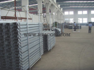 Galvanized Hole Type Scaffold Steel Planks for Construction pictures & photos